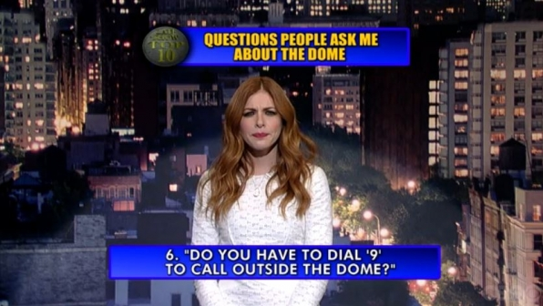 """6. """"Do you have to dial '9' to call outside the Dome?"""""""