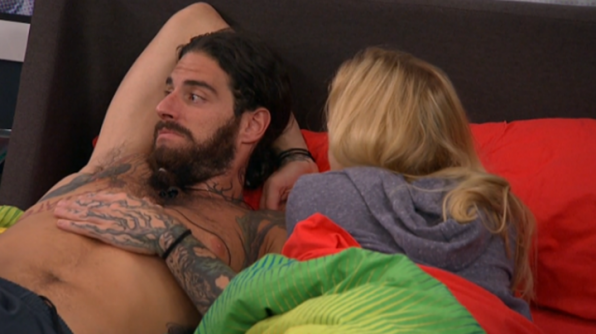 5. He thinks being in a showmance helped his game.