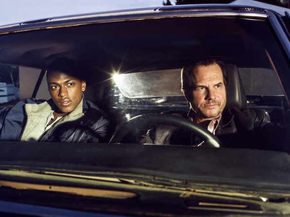 Justin Cornell as Det. Kyle Craig and Bill Paxton as Det. Frank Rourke