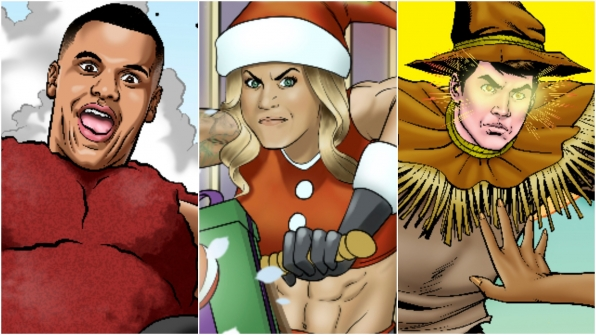 Big Brother reveals comic book covers of the entire BB19 cast