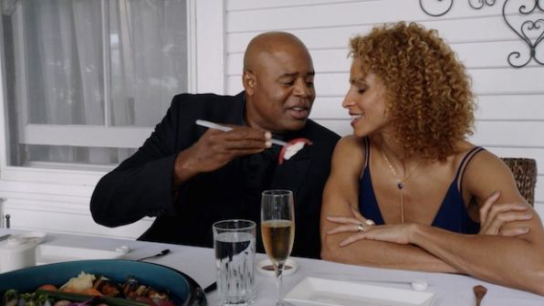 Chi McBride as Captain Lou Grover and Michelle Hurd as Renee Grover