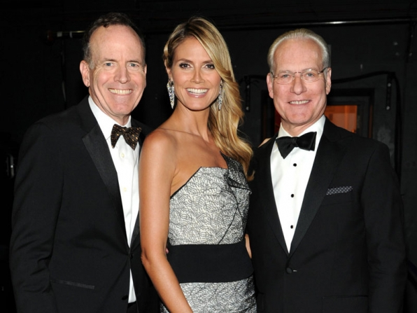 John Murray, Heidi Klum and Tim Gunn