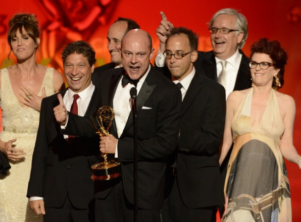 Robert Corddry and the cast and creative team of Childrens Hospital