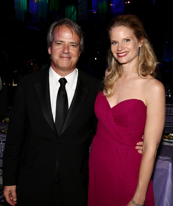 Graham Yost and Joelle Carter