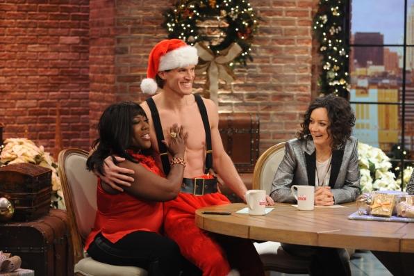 Sheryl's Sexy Santa.