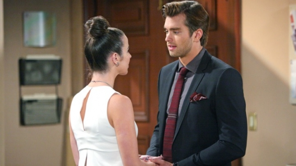 Ivy pleads with Thomas to let her go.