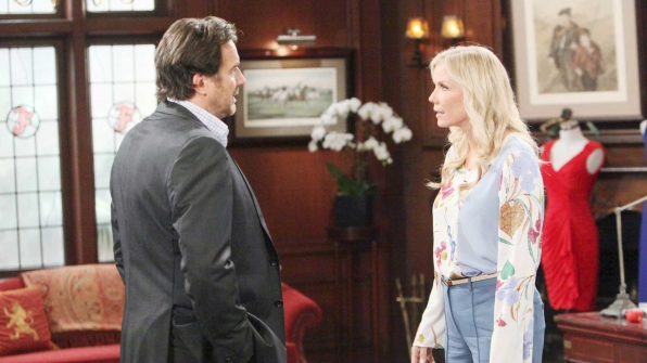 Ridge shocks Brooke when he mentions an almost-forgotten memory from their past.