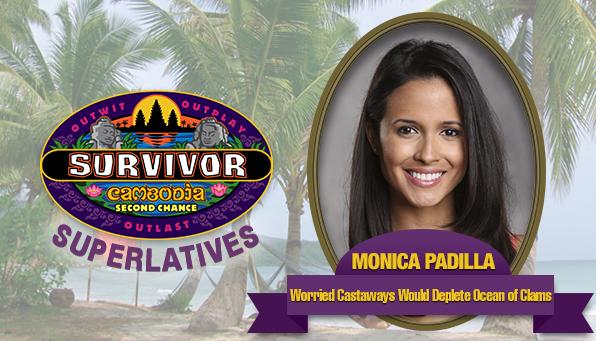 Monica Padilla - Worried Castaways Would Deplete Ocean of Clams
