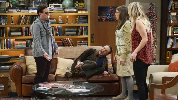 Sheldon injures himself while trying to blow off some steam.