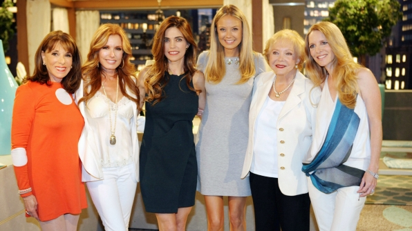 The ladies dazzle as they celebrate 42 wonderful years of Y&R.