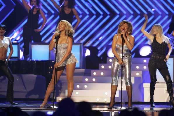 2008: Power Duo - Beyonce and Tina Turner