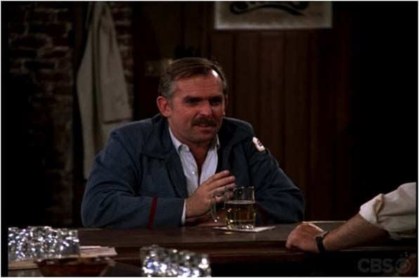 6. Cliff Clavin's all-knowing mustache