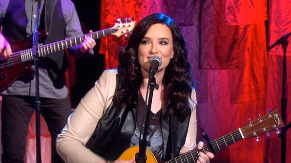 "3. Brandy Clark Performs ""Stripes"" Live!"