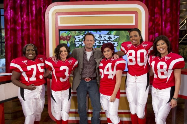 The Ladies With Luke Perry.