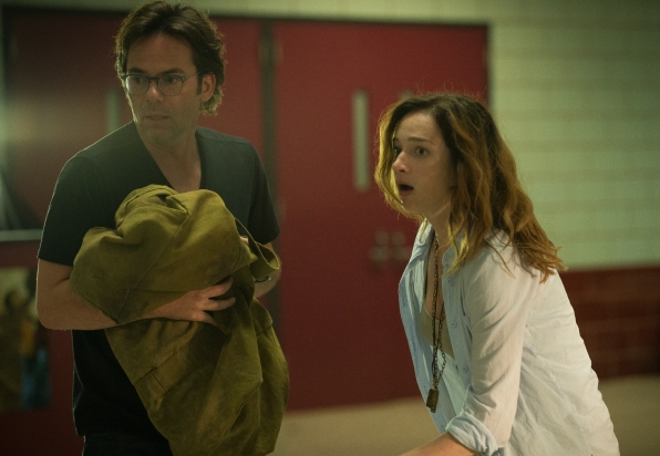 Billy Burke as Mitch Morgan and Kristen Connolly as Jamie Campbell.