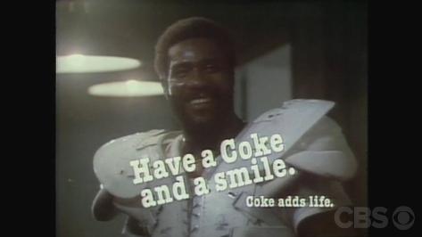 7. Mean Joe—Coca Cola 1980