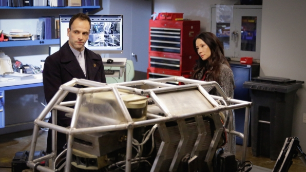 Jonny Lee Miller as Sherlock Holmes and Lucy Liu as Joan Watson