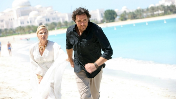 Ridge disrupted Bill and Brooke's wedding in Dubai.