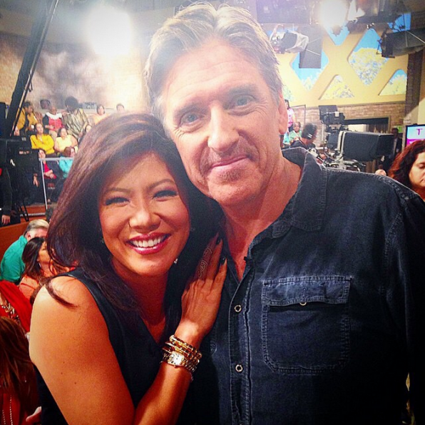 8. Talking celebrities with Craig Ferguson.