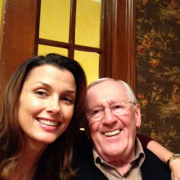 Blue Bloods Instagram: Bridget: Me and grandpa! Love you Len! #BlueBloods #CBSInstagramTakeover
