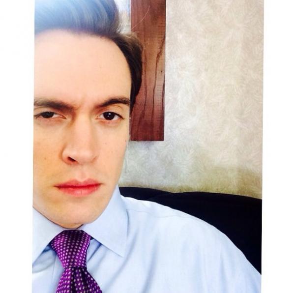 Madam Secretary Instagram: Erich: Still haven't had coffee... #MadamSecretarySunday #SetLife