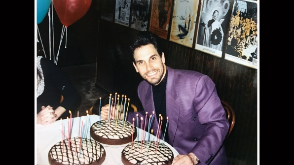 Only three cakes will do for the charming Don Diamont.