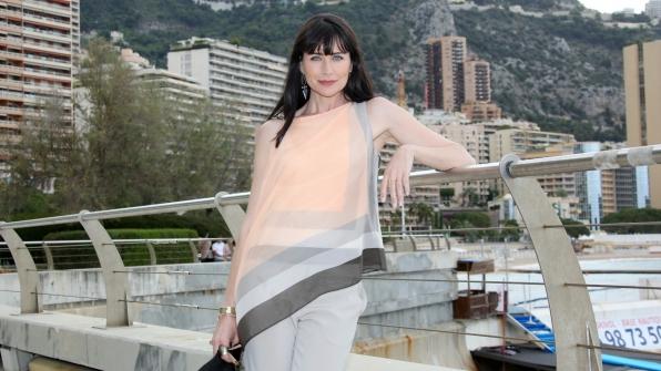 Rena Sofer dazzled in Monte Carlo, Monaco.