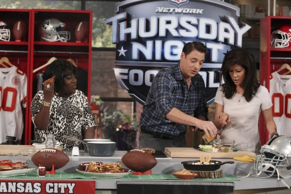 8. Tailgating with Jeff Mauro.