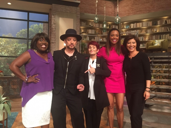 6. Boy George Was A Guest Host.