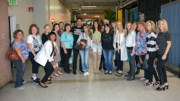 B&B's Don Diamont, Jacqueline MacInnes Wood, and Katherine Kelly Lang greet their fans.