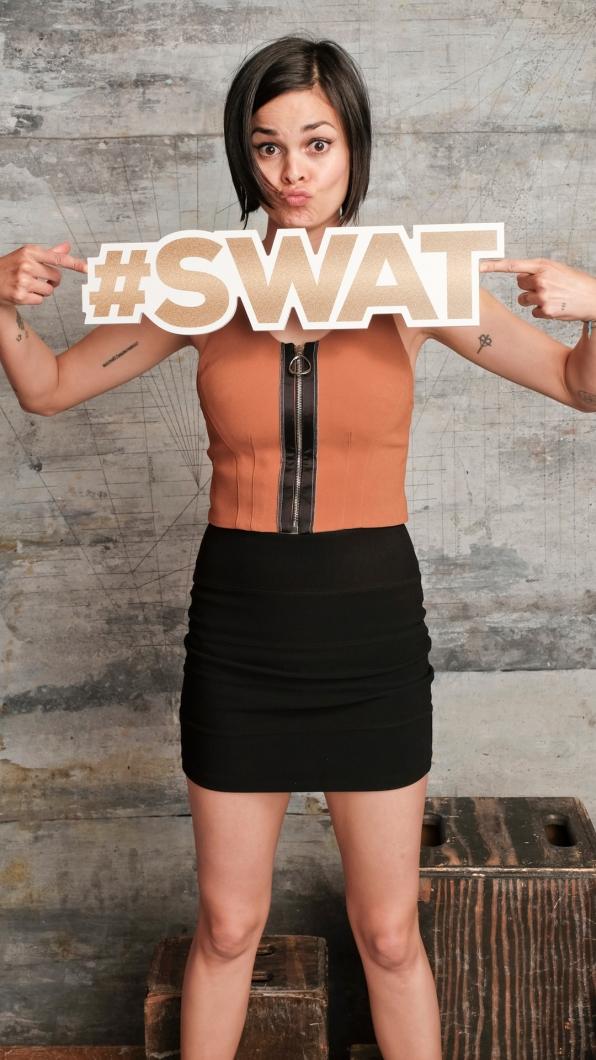 Lina Esco of S.W.A.T.