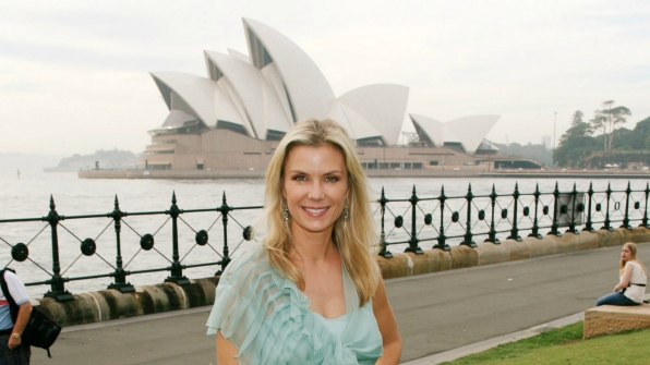 Katherine Kelly Lang took a trip down under to Sydney, Australia.