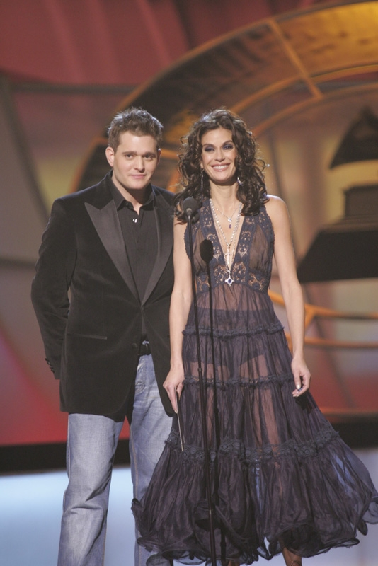 Michael Buble and Teri Hatcher