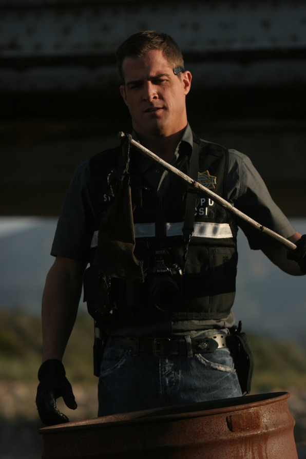 "George Eads as Nick Stokes in ""Way to Go"""