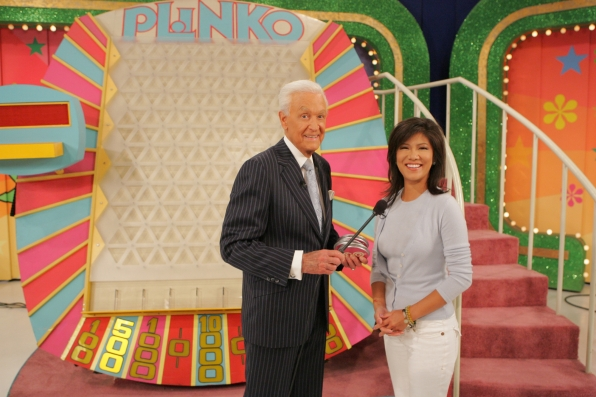 Bob Barker and Julie Chen