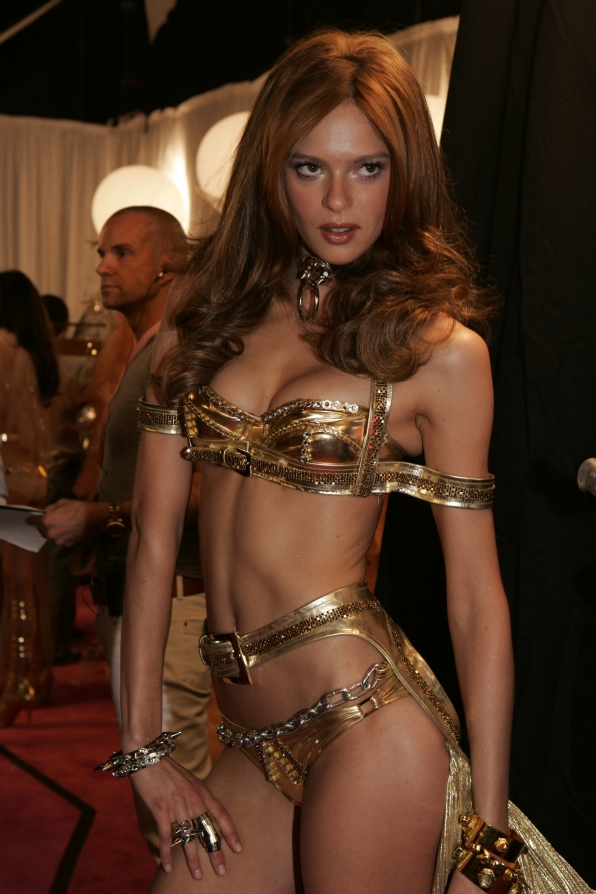 A Model at The Victoria's Secret Fashion Show