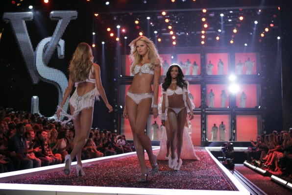 Models walk the runway at The Victoria's Secret Fashion Show