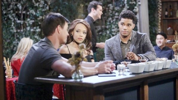 Wyatt sulks over a few drinks knowing that his ex-wife and brother are tying the knot.