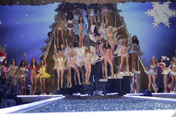 The finale of the Victoria's Secret Fashion Show
