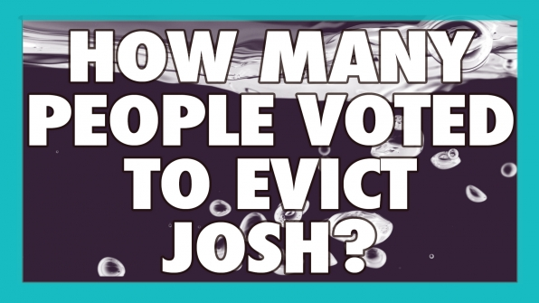 How many people voted to evict Josh?