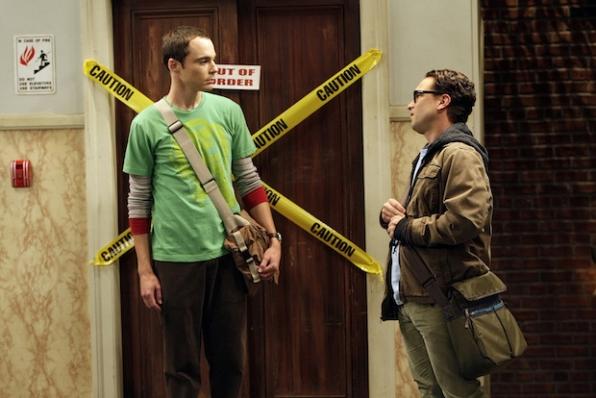 Sheldon moves out...sorta