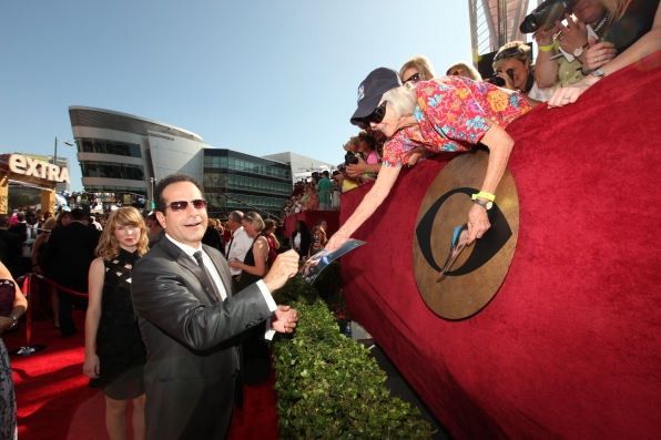 The red carpet of the 61ST PRIMETIME EMMY AWARDS