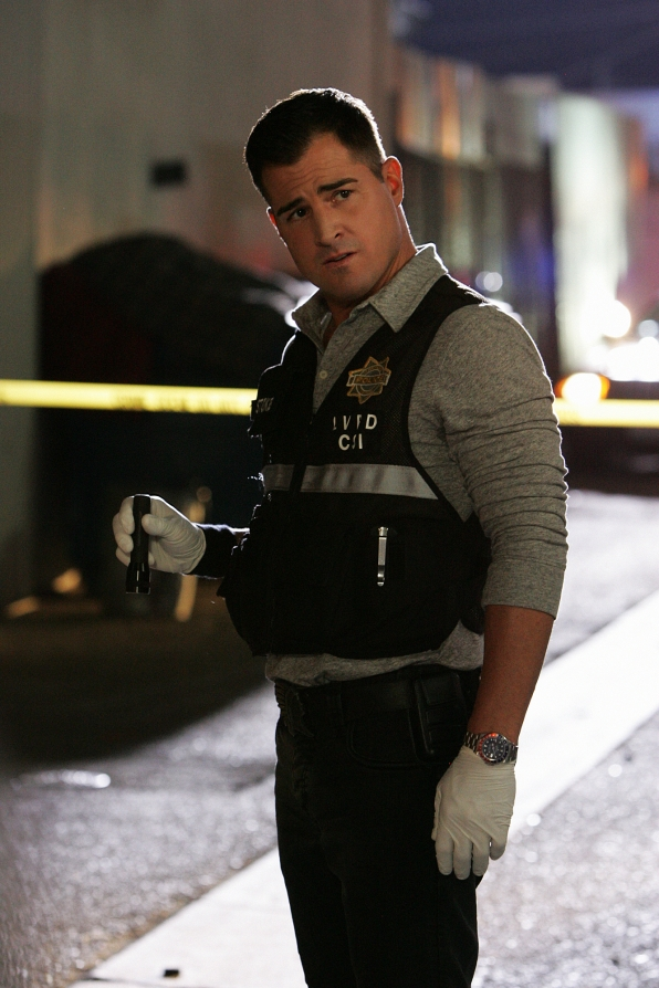 "George Eads as Nick Stokes in ""Death & the Maiden"""