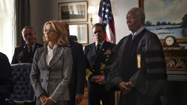 Morgan Freeman - Madam Secretary
