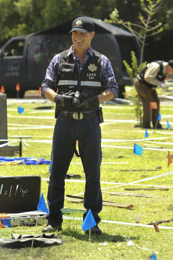 "George Eads as Nick Stokes in ""Shock Waves"""