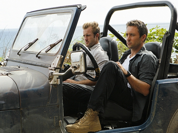 Scott Caan Alex O'Loughlin, Hawaii Five-0