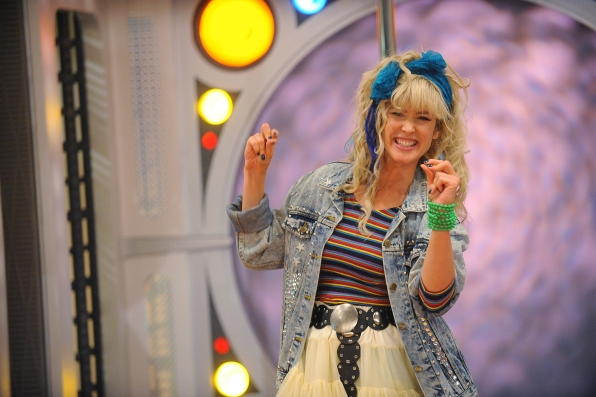 It's Robin Sparkles