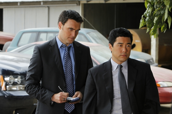 7. Rigsby and Cho - The Mentalist