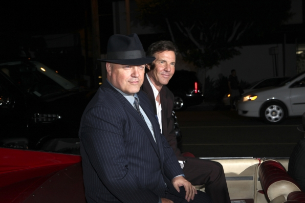 Michael Chiklis and Dennis Quaid