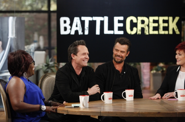 "2. ""Battle Creek"" Stars Dished On The New Show."